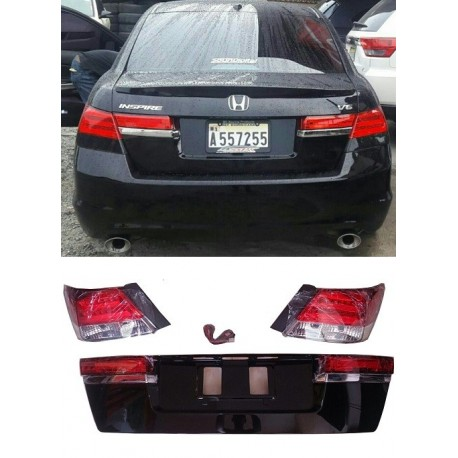 COMBO LUCES LED Y TAPA DE BAUL HONDA ACCORD 2008-2012