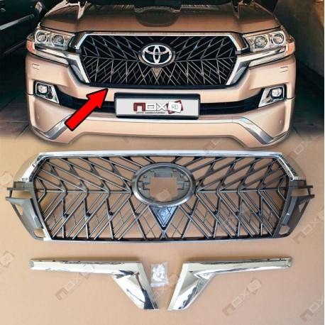 PARRILLA TRD LAND CRUISER 2016 AL 2019