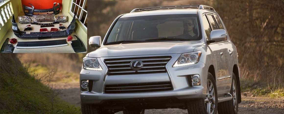 CONVERSION LEXUS LX570 2008 A 2015