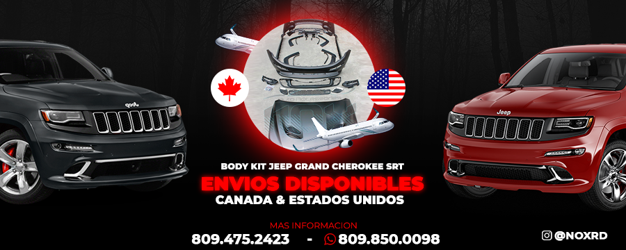 Envio disponible KIT SRT Grand Cherokee CAnada y Estados Unidos
