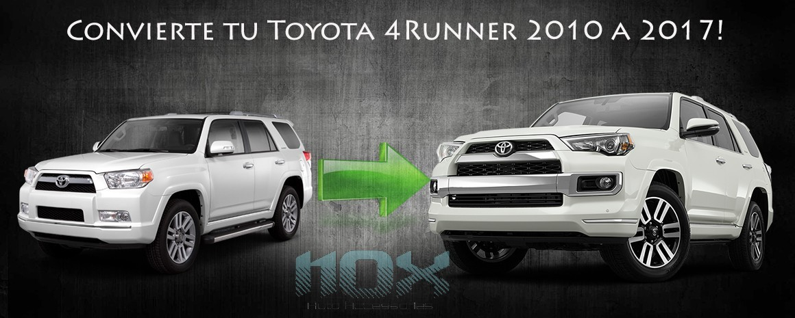upgrade kit toyota 4runner 2010 to 2018