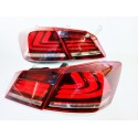 LUCES LED HONDA ACCORD 2013-2016 ROJO/BLANCO